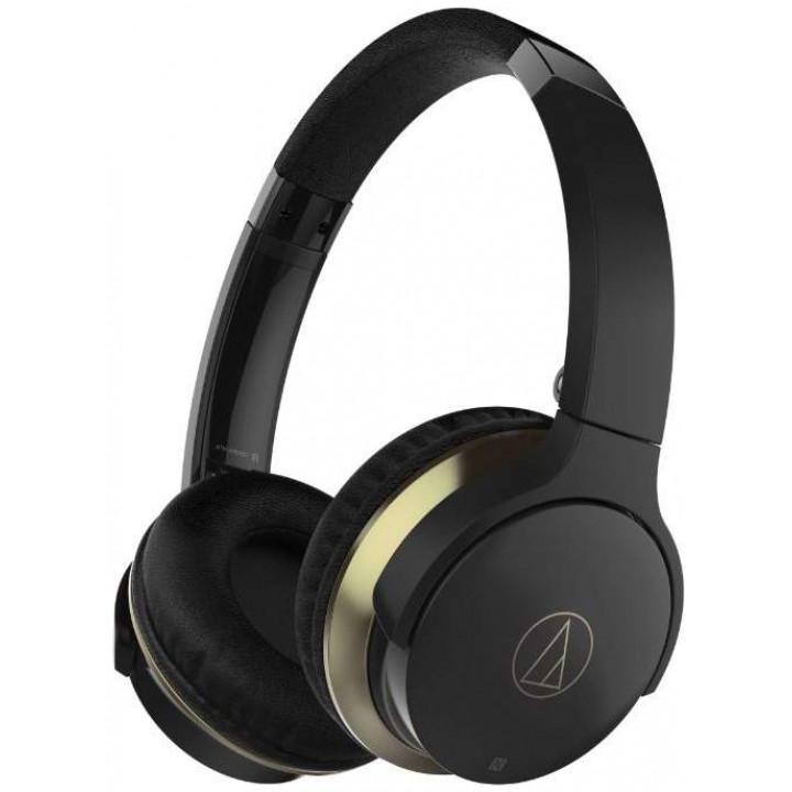 Беспроводные наушники Audio-Technica ATH-AR3BTBK Black