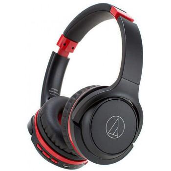 Беспроводные наушники Audio Technica S200BT Black/Red