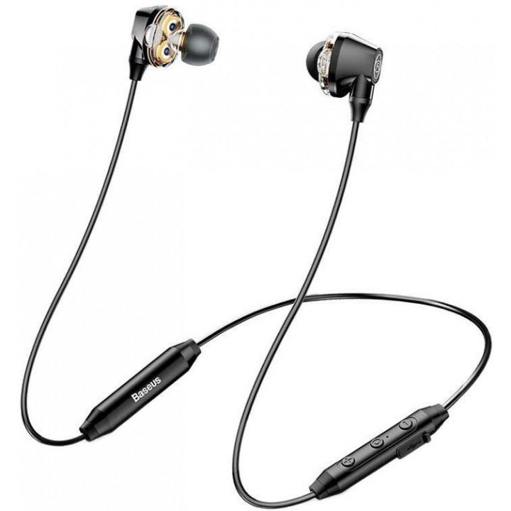 Беспроводные наушники Baseus Encok S10 Dual Dynamic Black