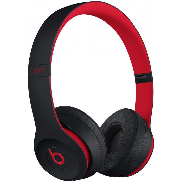 Беспроводные наушники Beats Solo3 Wireless On-Ear Headphones Defiant Black/Red