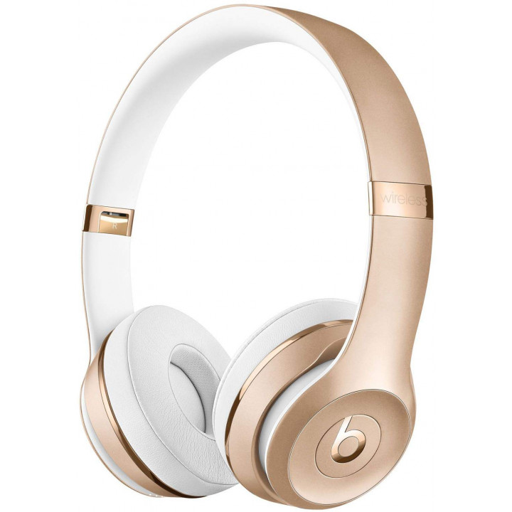 Беспроводные наушники Beats Solo3 Wireless On-Ear Headphones Gold