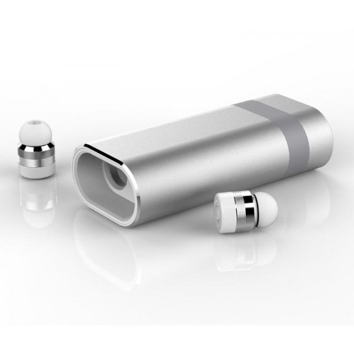 Беспроводные наушники Earbuds A8 5.0 PB Silver