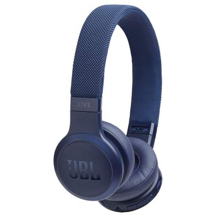 Беспроводные наушники JBL Live 400BT Blue