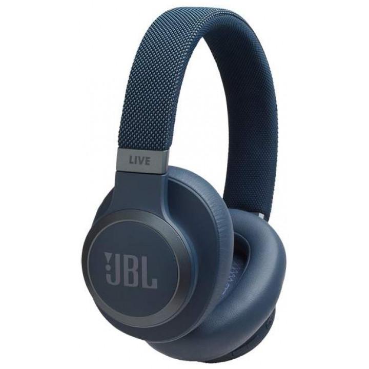 Беспроводные наушники JBL Live 650BTNC Blue