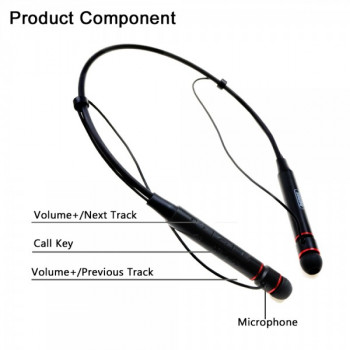 Беспроводные наушники Remax Bluetooth Neckband Earphone RB-S6 Black
