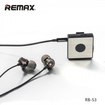 Беспроводные наушники Remax Bluetooth BT4.1 RB-S3 Black