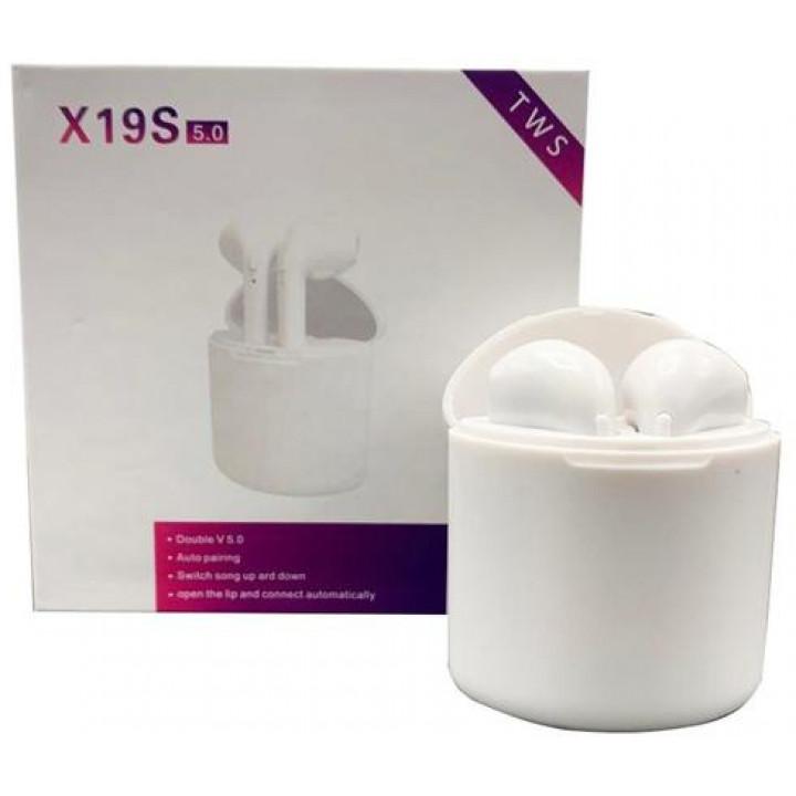 Беспроводные наушники TWI X19S 5.0 White