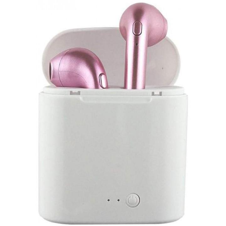 Беспроводные наушники TWS HBQ i7S Pink