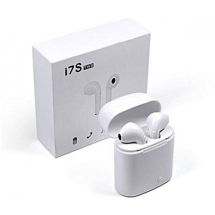Беспроводные наушники TWS i7S White