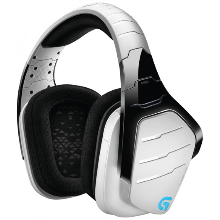 Игровые наушники Logitech Gaming G933 Artemis Spectrum Snow