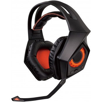 Игровые наушники ASUS ROG Strix Wireless Orange/Black