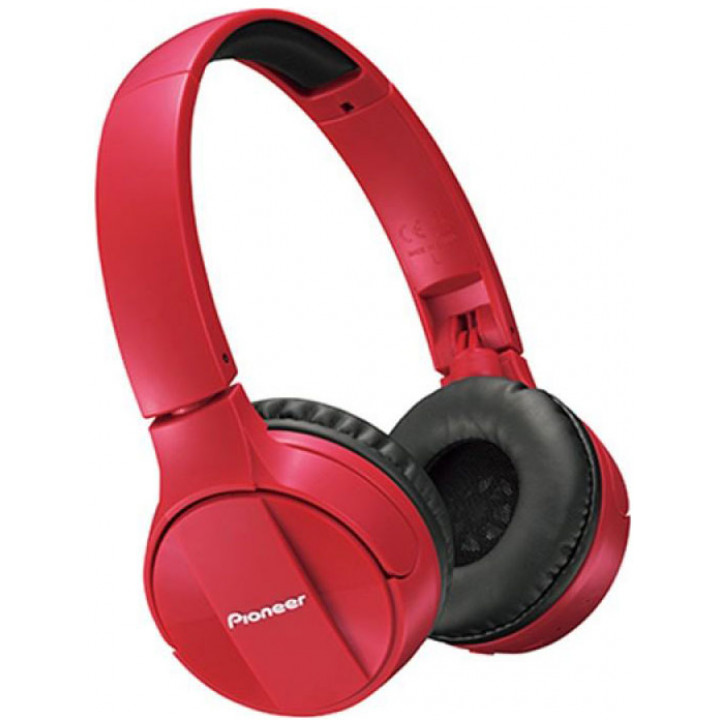 Беспроводные наушники Pioneer SE-MJ553BT Red