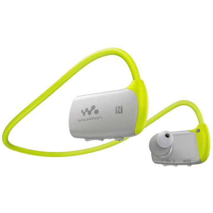 Наушники - Плеер Sony NWZ-WS615/GM Зеленый