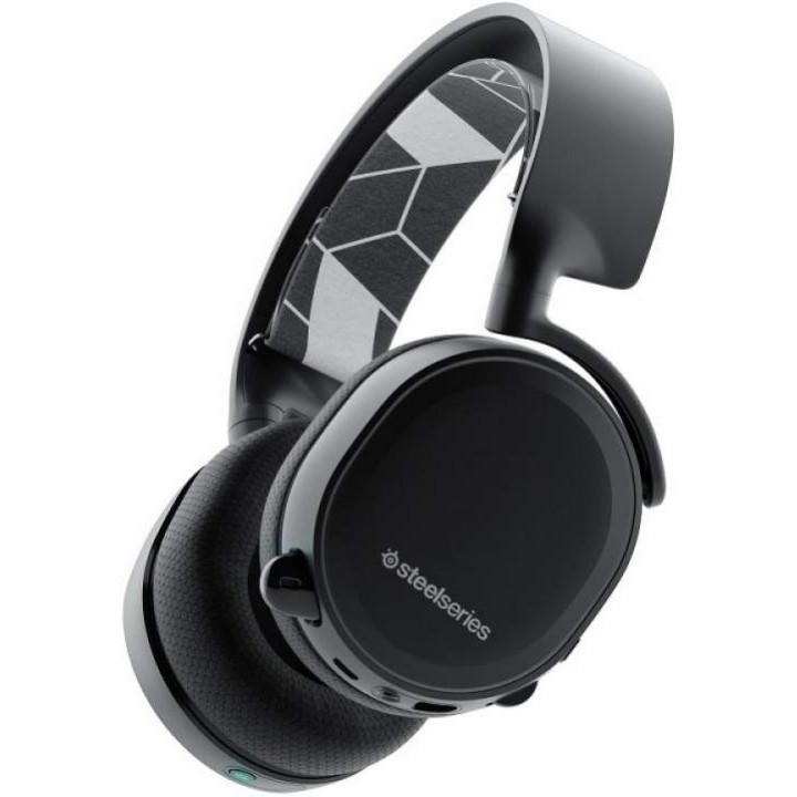 Игровые наушники SteelSeries Arctis 3 Bluetooth Black