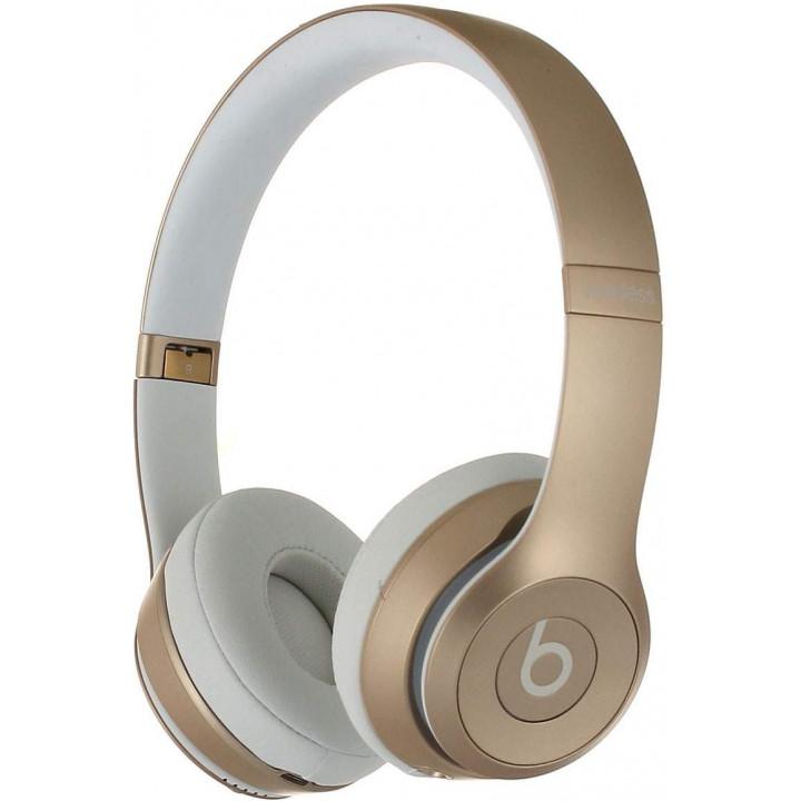 Беспроводные наушники Beats Solo 2 Wireless Gold