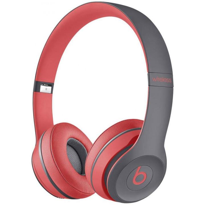 Беспроводные наушники Beats Solo Wireless Siren Red