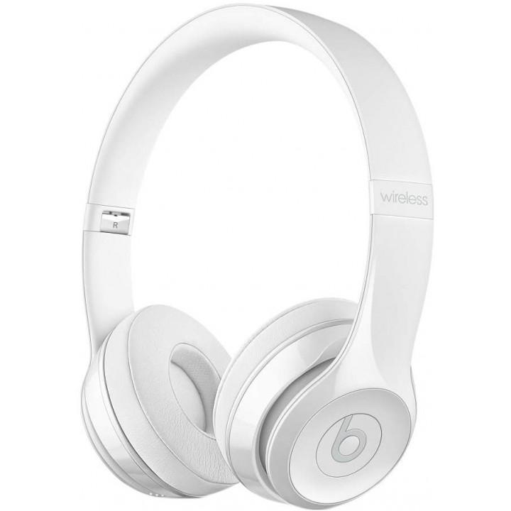 Беспроводные наушники Beats Solo3 Wireless On-Ear Gloss White