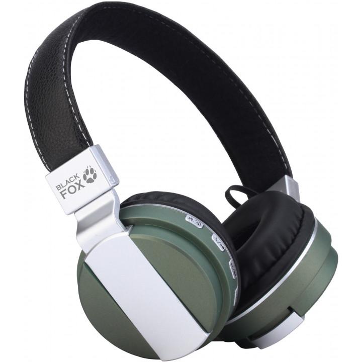 Беспроводные наушники Black Fox BAH008 Green
