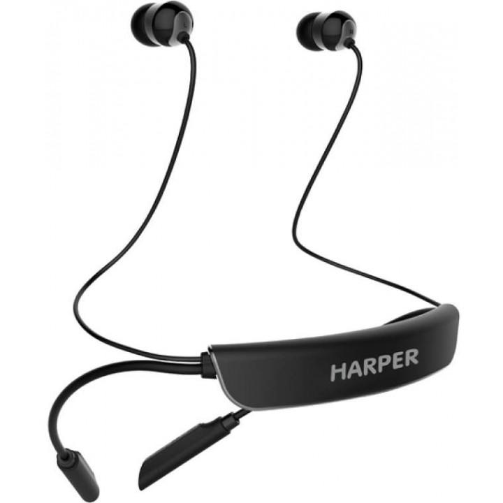Беспроводные наушники Harper HB-309 Black
