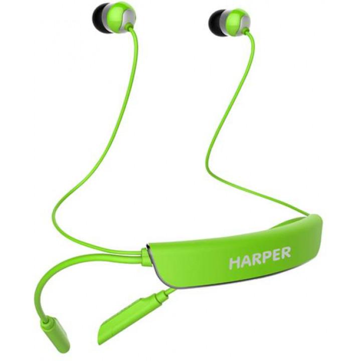 Беспроводные наушники Harper HB-309 Green