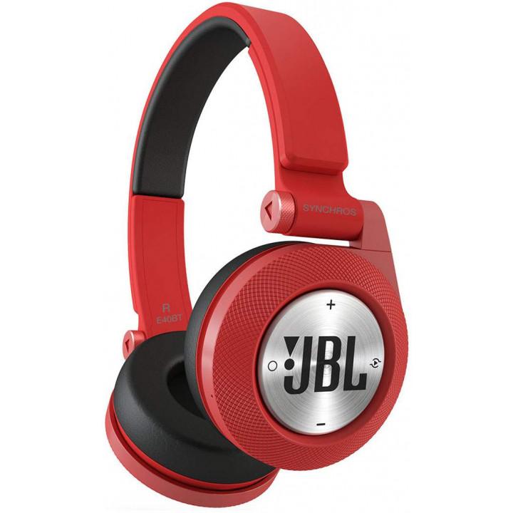 Беспроводные наушники JBL Synchros E40BT Red