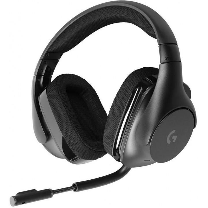 Игровые наушники Logitech Wireless Gaming Headset G533 Black
