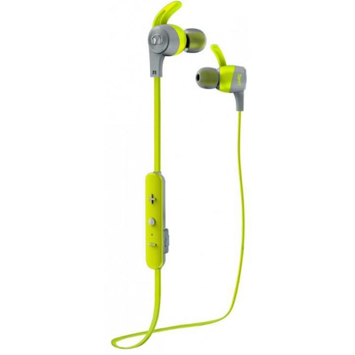 Беспроводные наушники Monster iSport Achieve Green