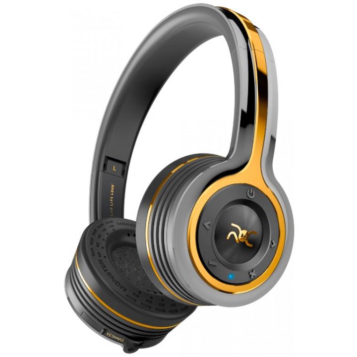 Беспроводные наушники Monster ROC Sport Freedom On-Ear Black