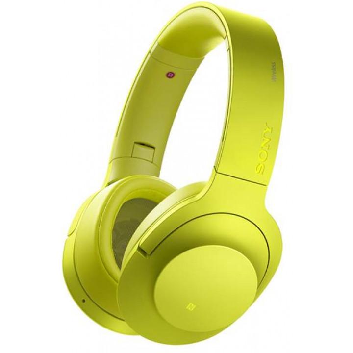 Беспроводные наушники Sony MDR-100 Yellow