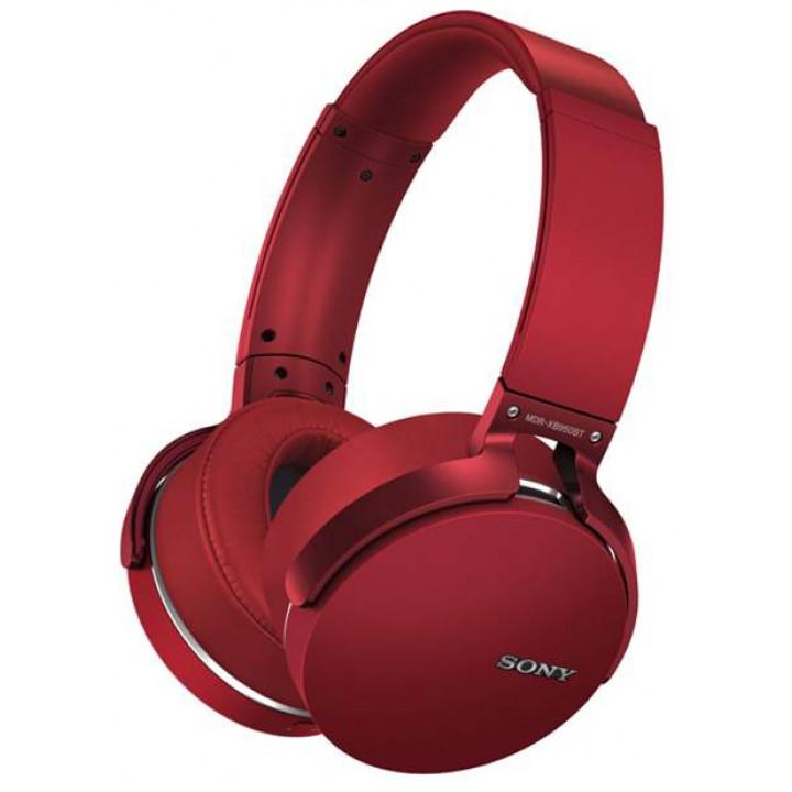 Беспроводные наушники Sony MDR-XB950BT Red