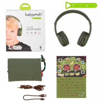 наушники детские BuddyPhones Play GLACIER BT-BP-Play-AMAZON