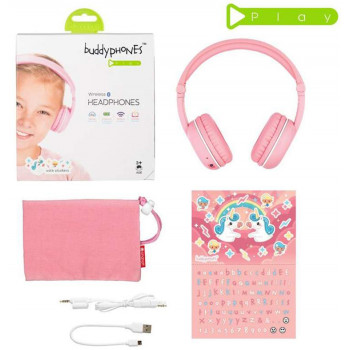 наушники детские BuddyPhones Play SAKURA BT-BP-Play-SAKURA