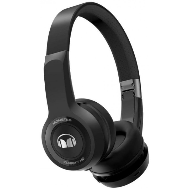 Беспроводные наушники Monster Clarity HD Bluetooth Black On-Ear Wireless