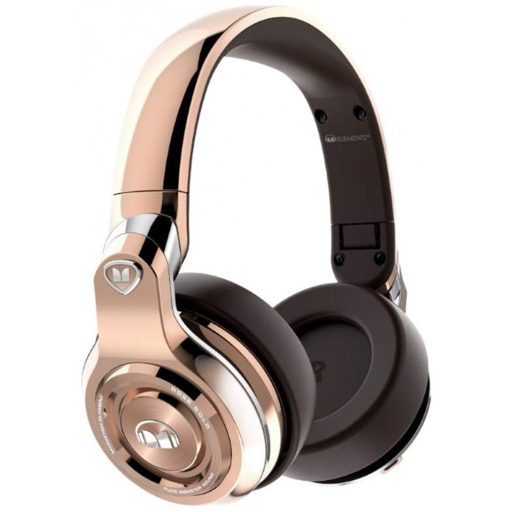 Беспроводные наушники Monster ELEMENTS WIRELESS OVER-EAR BT Gold