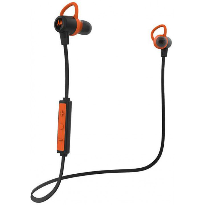 наушники MOTOROLA VERVE LOOP+ Black/Orange
