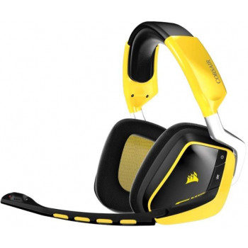 Игровые наушники Corsair VOID PRO RGB WIRELESS Yellow/Black