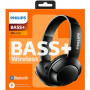 Беспроводные наушники Philips Bass+ SHB3075 Black