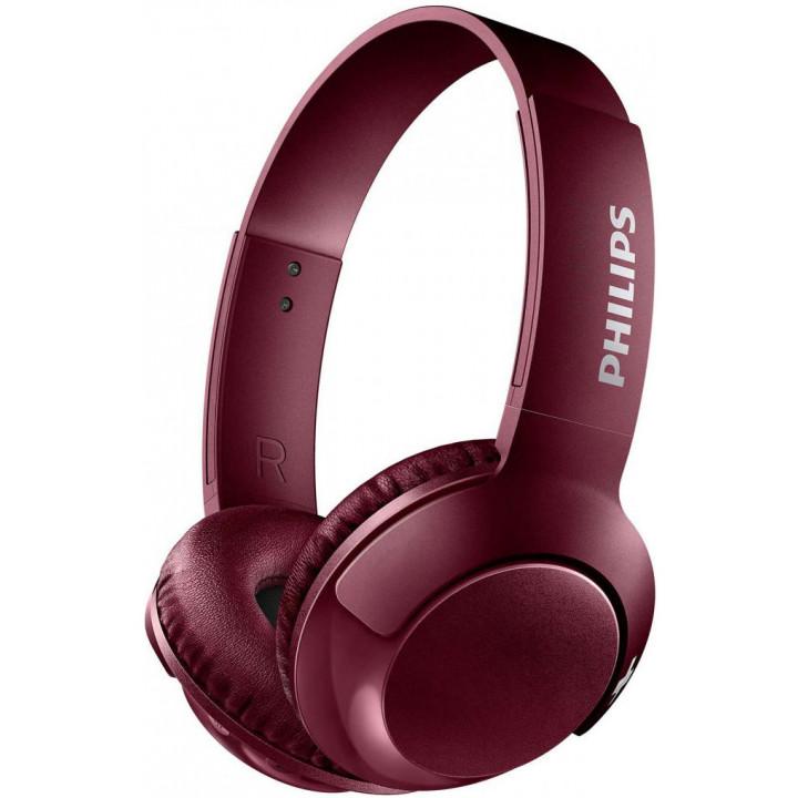 Беспроводные наушники Philips Bass+ SHB3075 Red