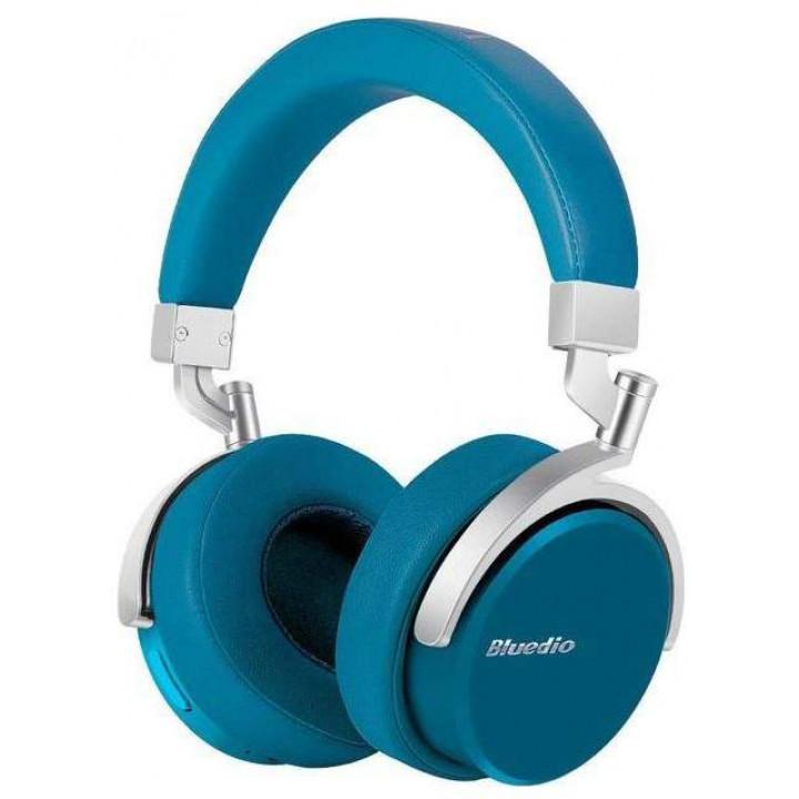 Беспроводные наушники Bluedio Vinyl Blue