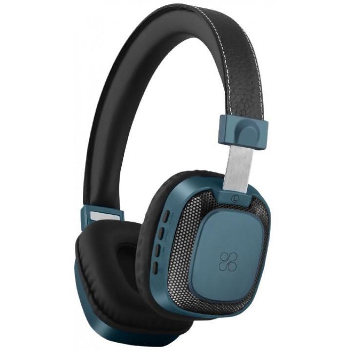 Беспроводные наушники Promate Melody-BT Blue