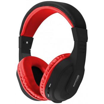 Беспроводные наушники Promate Tempo-BT Red