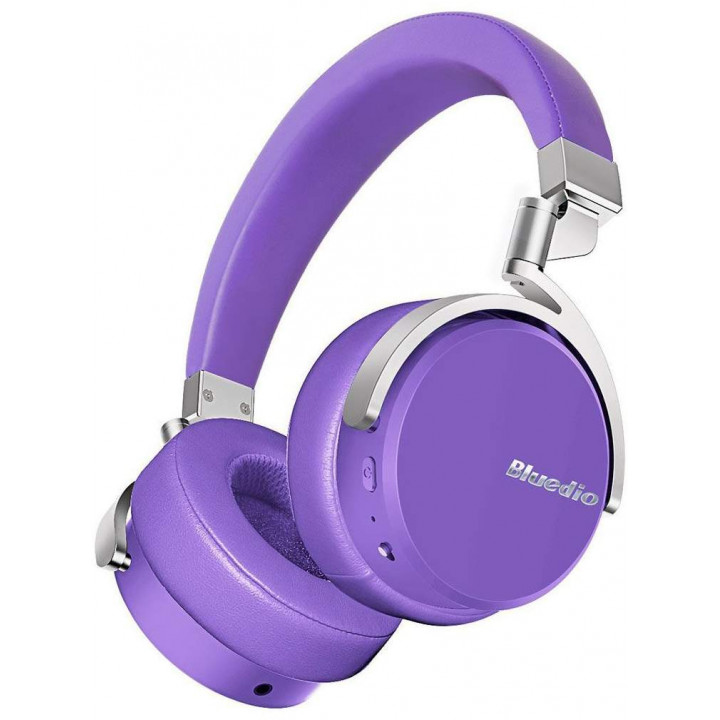 Беспроводные наушники Bluedio Vinyl Purple