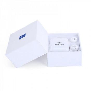 Беспроводные наушники TWS X3T bluetooth Touch Twice White