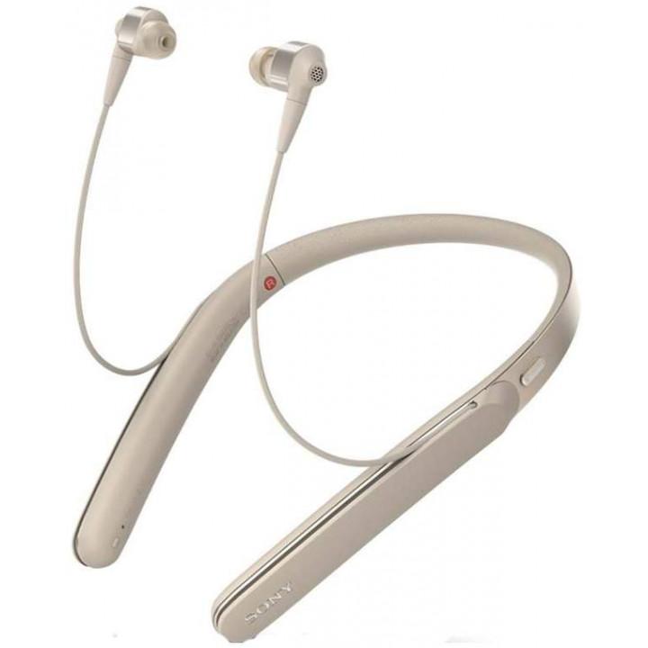 Беспроводные наушники Sony WI-1000X Gold