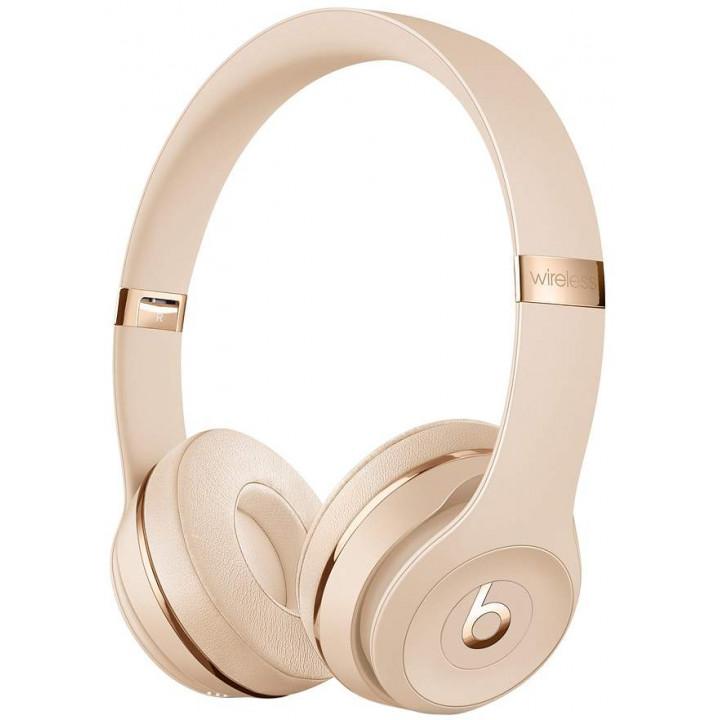 Беспроводные наушники Beats Solo3 Wireless On-Ear Headphones Satin Gold (MUH42EE/A)