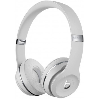 Беспроводные наушники Beats Solo3 Wireless On-Ear Headphones Satin Silver (MUH52EE/A)