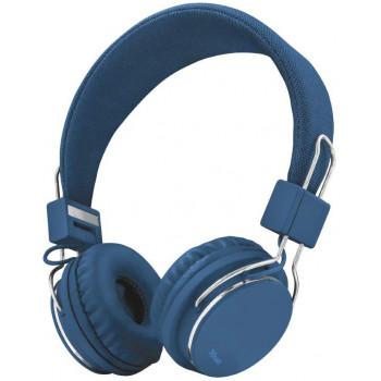 Беспроводные наушники Trust Ziva Foldable Blue