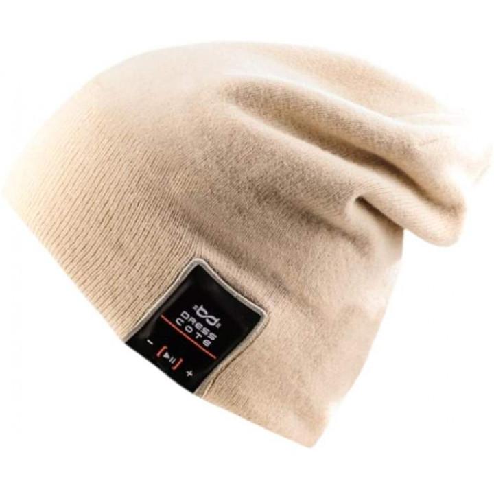 Шапка с беспроводными наушниками Dress Cote HATSONIC Beige