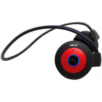 Беспроводные наушники Akai HD-152 Red\Black