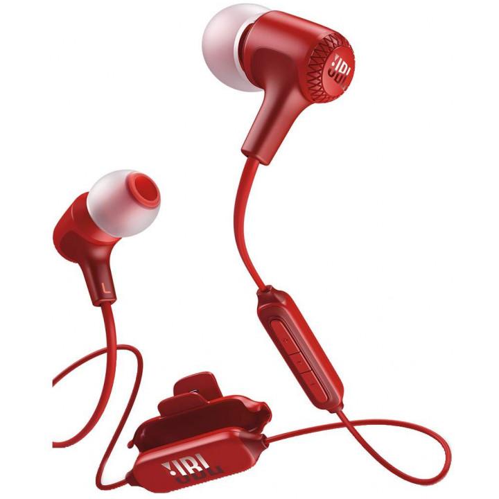 Беспроводные наушники JBL E25BT Red